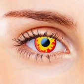 Flame Contact Lenses