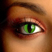 Green Cat Eye Contact Lenses