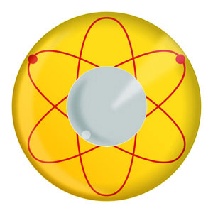 Atomic Yellow Contact Lenses