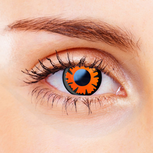 Orange Contact Lenses