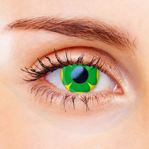 Four Leaf Clover Contact Lenses