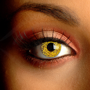 Glimmer Gold Contact Lenses