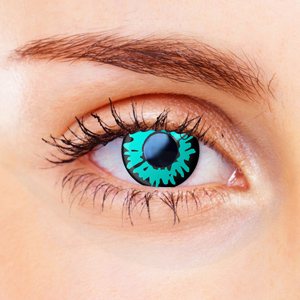 Green Werewolf Contact Lenses