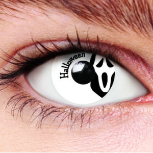 Halloween Scream Contact Lenses