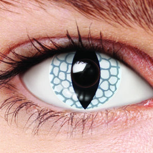 White Lizard Contact Lenses